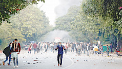 Police fire tear gas as Delhi protesters vent anger at citizenship law
