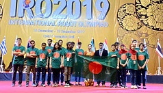 Bangladesh wins gold in Robot Olympiad