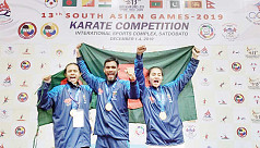 SA Games 2019: Hat-trick of golds for Bangladesh in karate
