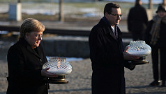 Merkel visits Auschwitz for first time