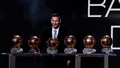 Messi wins record sixth Ballon d'Or award