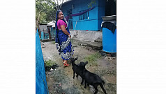 Archana, the goat farmer