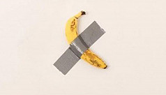 Duct-taped banana work selling for $120,000...