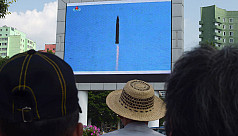 US warns N Korea of consequences of missile test