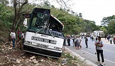 20 dead in bus crash in eastern...