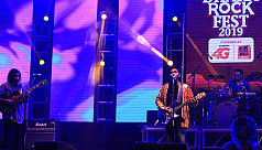 Dhaka Rock Fest held at ICCB Expo Zone