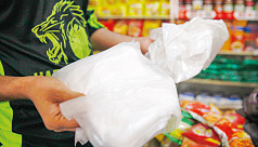 How are banned polythene bags still in the market?