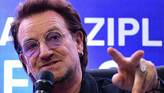 Bono: 'No compromise' on human rights...