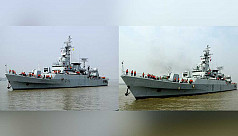 2 new warships join Bangladesh Navy's fleet