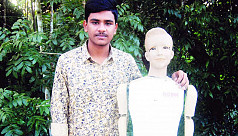 Tenth-grader in Barisal makes AI robot