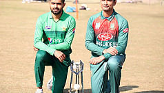 Bangladesh opt to bat first against Pakistan