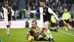 Ronaldo scores hat-trick as Juve thump...