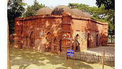 Galakata mosque at Barobazar-Jhenaidah