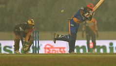 Magnificent Shanto smashes ton in Khulna...