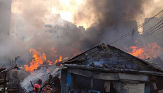 98 shanties gutted in Chittagong slum...
