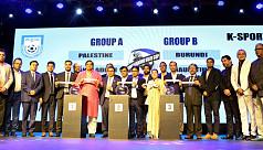 Bangladesh drawn with Palestine, Sri...