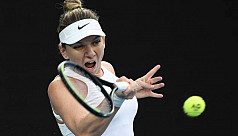 Nadal, Halep roll on as shocks rattle...