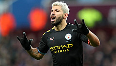 Aguero becomes Premier League's top overseas scorer