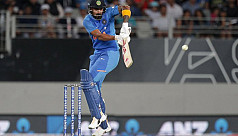 India coast home in second T20