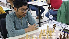 Fahad beats Russian GM