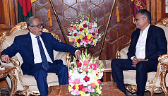 PM's new principal secretary meets president