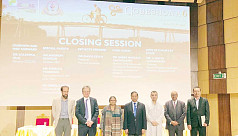 Climate change conference Gobeshona 6 ends