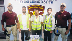 3 cleaning staff arrested with gold at Dhaka airport