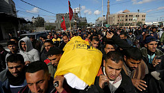 Israeli troops kill three Palestinians...