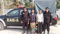 2 suspected militants arrested in...