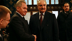 Libya's Haftar leaves Moscow without...