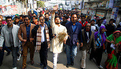 Ishraque seeks votes, demands Khaleda's release