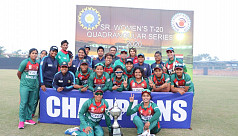 Tigresses clinch quadrangular series in India