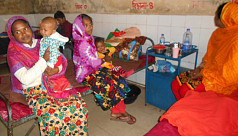 Number of cold-hit children on rise in Nilphamari