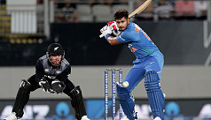 Iyer fireworks give India win in T20 opener in NZ