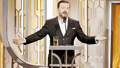 Wicked Ricky takes on Golden Globes in Trump, #MeToo era