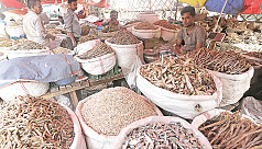 Imports take over as local dried fish...