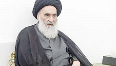 Sistani condemns use of force against protest camps, urges early election