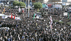 Mourners flood Iran cities as Soleimani's...