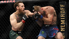 McGregor demolishes Cerrone in 40-second return to UFC octagon