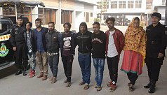 8 human traffickers held in Dhaka, 2 victims rescued