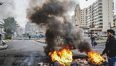 Lebanon security forces fire tear gas,...