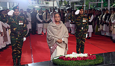 PM pays homage to Bangabandhu on Homecoming...