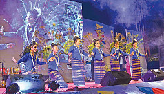 Shilpakala's Beach Cultural Festival held at Cox's Bazar