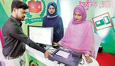 EC presses on with 35,000 EVMs for Dhaka...