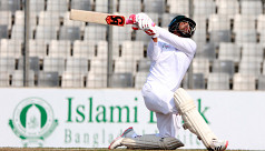 Tamim hits triple on day of...