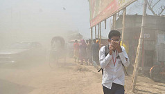 Dhaka's air quality still remains very...