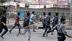 BNP men clash with AL activists at Naya...