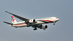 Biman suspends all flights on int'l routes from April 1,  except Manchester, London