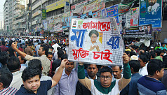 In presence of police, BNP rally demands Khaleda's release