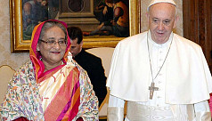PM Hasina meets Pope